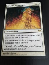 MTG MAGIC SHADOWMOOR GREATER AURAMANCY (FRENCH GRANDE AURAMANCIE) NM