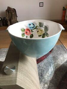 Rare Cath Kidston Painlerley Rose Large Mixing Bowl