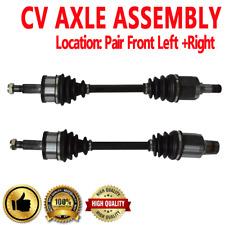 FRONT Driver & Passenger CV Axle Shaft For CHRYSLER 300 05-14 AWD