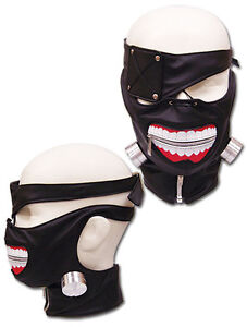 **Legit** Tokyo Ghoul Ken Kaneki Eyepatch Authentic Cosplay Leather Mask #23591