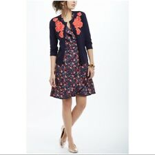 $148 Anthropologie Hi There by Karen Walker Cereja Cherry Print Dress NEW K239