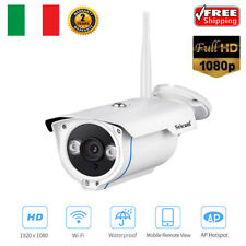 Sricam 1080P HD IP telecamera wireless ONVIF H.264 CCTV Sicurezza WIFI TF Slot