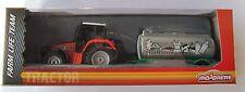 Traktor mit Tank - Anhänger / Trecker/ca.18 cm / Bauernhof / Majorette /Neu OVP