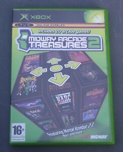 MIDWAY ARCADE TREASURES 2 WITH INSTRUCTION BOOKLET XBOX