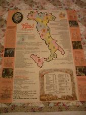 Vintage Mamma Leone's Restaurant New York City Folding Paper Menu & Postcard