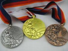 Seoul 1988 Olympic Medals Set (Gold/Silver/Bronze) with Ribbons & Display Stands