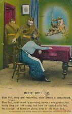 POSTCARD  SONG CARD    Blue  Bell  ( 4 )