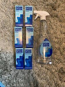BN 4 X Ocean Saver Ocean Mist 10ml & 2 X Lavender Wave Refill With Spray Bottle