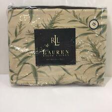 King Size Flat Sheet Lauren Ralph Lauren Desert Plains Perennial Green Cotton