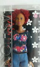 Ethnic Barbie Back to Natural -Afro- African American MATTEL