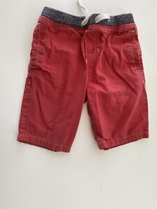Mini Boden Cotton Pull On Shorts 7Y