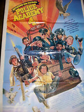 Police Academy 4 Citizens on Patrol Original Movie Film Poster 1 One Sheet Old