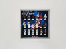 Display case Frame for Lego Star Wars minifigures 27cm