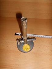 1 x Bunsenbrenner laut Aufkleber DVGW zugelassen, S / W. Germany gebraucht