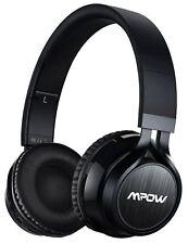 Bluetooth Headphones Wireless Mpow CVC 6.0 and Foldable on The Ear Headset Black