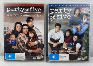 Party of Five - Season 1 & 2 (DVD, 1994-1996) Region 4