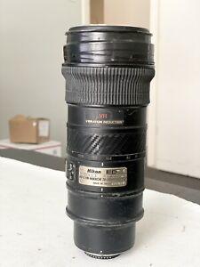 AS-IS DAMAGED - Nikon AF-S VR Nikkor ED 70-200mm 1:2.8G Lens