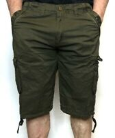 Men's Premium Long  Cargo Shorts