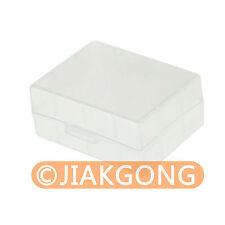 White Hard Plastic Case Holder Storage Box for Battery NP-FW50 NP-FV50......