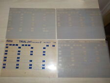 LOT MICROFICHES FANTIC TRIAL ANNEES 80.