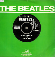 "THE BEATLES  RE SINGLES COLLECTION  ""PLEASE PLEASE ME / ASK ME WHY"" PARLOPHONE"