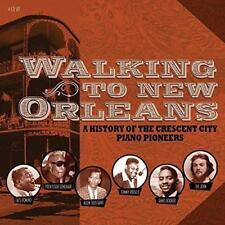 Walking To New Orleans A History Of The Crescent City Piano Pioneers 4CD Blues