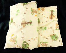 Garanimals Camo Dreams Crib Toddler 2 pc Sheet Set Woodland Bears Animals