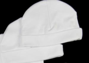 4 Newborn Baby Infant Comfy Hospital Cap 100% Cotton Warm Beanie Hat -RESTOCK