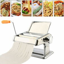 Manual Pasta Press & Cutter | Tagliatelle Fettuccine Pasta Maker|Stainless Steel