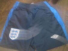 Shorts de fútbol inglés 2010-2011 Hogar Tamaño Pequeño Chicos Cintura/Bi