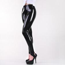 New Bodysuit Latex Rubber Unisex Long Pants Handmade Trousers 0.4mm Sexy S-XXL