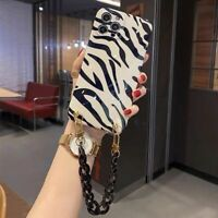 Strap Leopard Soft Rubber Case Slim Cover For iPhone 12 11 Pro Max 8 7 XR XS Max