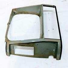 1984-1990 Jeep Cherokee Comanche Wagoneer Gray Passenger Right Headlight Bezel