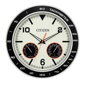 Citizen Water Resistant Outdoor Wall Clock CC2019