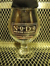 NODA BREWING Co BREWERY Charlotte NC 2014 PINK PINT NIGHT BEER Snifter Glass X