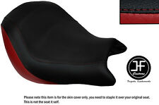 DARK RED AND BLACK VINYL CUSTOM FITS HONDA VTX 1800 02-04 FRONT SEAT COVER ONLY