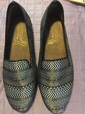 Shoes, Women;s BY AEROSOLES, Silk tapestry fabric, SZ: 6 1/2M, flats, NEW