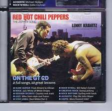 RED HOT CHILI PEPPERS / LENNY KRAVITZ CD GUITAR TECHNIQUES 127 2006