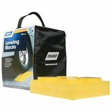 New Camco Leveling Blocks 10 Pack RV Camper Trailer Secure Single Double Wheels