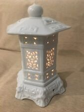 Porcelain Pavilion Candle Tea Light Holder