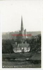REAL PHOTOGRAPHIC POSTCARD OF BURFORD, (NEAR WITNEY), OXFORDSHIRE, FRANK PACKER