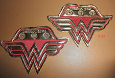 WONDER WOMAN WINGS shoe accents wear Official DC universe Justice League toy
