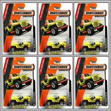 Matchbox 2014 43 JEEP WILLYS 6 Truck Lot MBX Heroic Rescue Life Guard #94 New