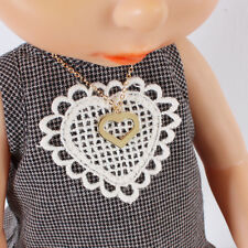 Disney Baby Doll Clothes / Heart Necklace /Animator's collection Princess 16inch