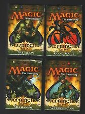 MTG Magic the Gathering MORNINGTIDE 4 X THEME DECK set SEALED NEW