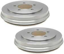 NEW Pair Set of 2 Rear Brake Drums ACDelco Pro For Dodge Caliber Jeep Compass