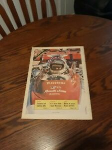 MAY 26,1973-THE SPORTING NEWS-INDIANAPOLIS 500(MINT)