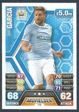 TOPPS MATCH ATTAX 2013-14- #175-MANCHESTER CITY & SPAIN-BENFICA-JAVI GARCIA