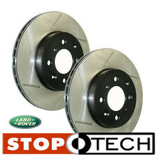 Land Rover Range Rover Sport Supercharged Stoptech Slotted Rotors (Rear Pair)