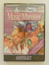 PC CD-ROM Music Manager Musikdatenbank Neu originalverpackt